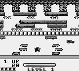 Frogger Game Boy Color First level (b/w)
