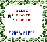 Frogger Game Boy Color Two players can take turns