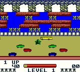 Frogger Game Boy Color First level