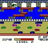 Frogger Game Boy Color Watch out for sneaky gators on level 2