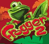 Frogger 2 Game Boy Color Title screen