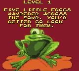 Frogger 2 Game Boy Color Level 1