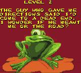 Frogger 2 Game Boy Color Level 2