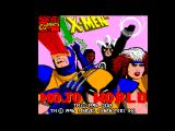 X-Men: Mojo World SEGA Master System Title screen
