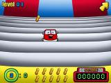 Putt-Putt Joins the Circus Windows Toss peanuts to the cars that pop up in this little game.