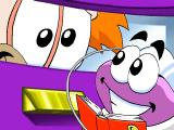 Putt-Putt Joins the Circus Windows Putt-Putt needs a book to translate Honker's beeps.