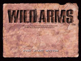 Wild Arms PlayStation Title screen