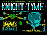 Knight Tyme ZX Spectrum Loading screen (128k version)