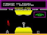 Knight Tyme ZX Spectrum Starting location