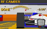 IndyCar Racing DOS Garage - adjusting camber