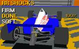 IndyCar Racing DOS Garage - adjusting shocks