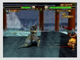 Mace: The Dark Age Nintendo 64 Xiao Long dodges an attack with a somersault