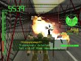 Armored Core: Project Phantasma PlayStation Enemy exploding.