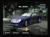 Need for Speed: Most Wanted PlayStation 2 My Mercedes Benz is waiting for me in the garage