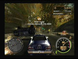 Need for Speed: Most Wanted PlayStation 2 Poor police SUV, it twisted lot of times in front of me
