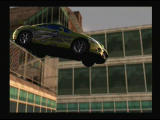 Need for Speed: Most Wanted PlayStation 2 Slow-motion jump from the higher level