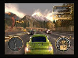Need for Speed: Most Wanted PlayStation 2 Backing away from black police cars