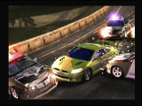 Need for Speed: Most Wanted PlayStation 2 Breaking through the road block