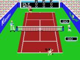 Konami's Tennis MSX Ready for first serve