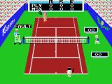 Konami's Tennis MSX Hit the net
