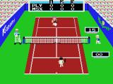 Konami's Tennis MSX A high ball