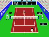 Konami's Tennis MSX The ball is in