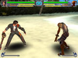 Battle Raper II: The Game Windows Yuuki fights a shiki monster in the story mode