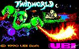 TwinWorld: Land of Vision Amstrad CPC Title Screen