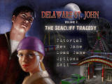 Delaware St. John: Volume 3: The Seacliff Tragedy Windows Main game screen