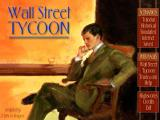 Wall Street Tycoon Windows Main menu