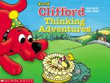 Clifford the Big Red Dog: Thinking Adventures Windows Clifford's title screen