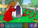 Clifford the Big Red Dog: Thinking Adventures Windows You have to clean up the yard for the party!