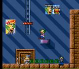 Krusty's Fun House SNES Later levels have elevators