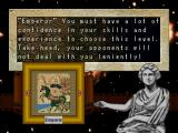 Sid Meier's Civilization II PlayStation Set the difficulty for your game.