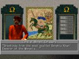 Sid Meier's Civilization II PlayStation Talking to the cordial Mongol emissary.