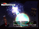 Chrono Cross PlayStation One of the many cool spell effects of the game