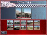Disney•Pixar Cars: Radiator Springs Adventures Windows Selecting one of the ten activities