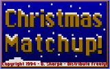 Christmas Matchup DOS Title screen