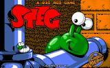 Steg the Slug DOS Title screen