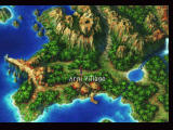 Chrono Cross PlayStation World map