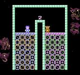 Palamedes II: Star Twinkles NES Starting mode 2 match against the teddy