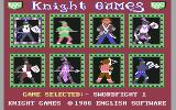 Knight Games Commodore 64 Select game to compete in