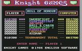 Knight Games Commodore 64 High scores