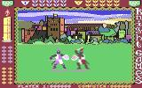 Knight Games Commodore 64 Swordfight 2