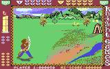 Knight Games Commodore 64 Aim the reticule