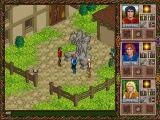 Halls of the Dead: Faery Tale Adventure II DOS Starting location