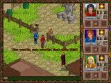 Halls of the Dead: Faery Tale Adventure II DOS The NPCs are really into your visit.