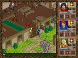 Halls of the Dead: Faery Tale Adventure II DOS Cut-away interior views