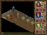 Halls of the Dead: Faery Tale Adventure II DOS What a mess in the cellar!