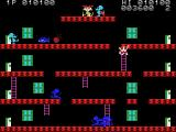 Mouser MSX The cyan mouse kick away a bomb